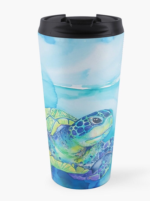 Turquoise Turtle Keep Cup
