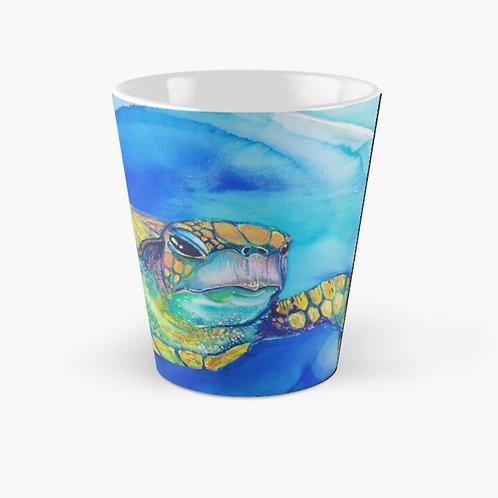 Iridescent Turtle Tall Mug