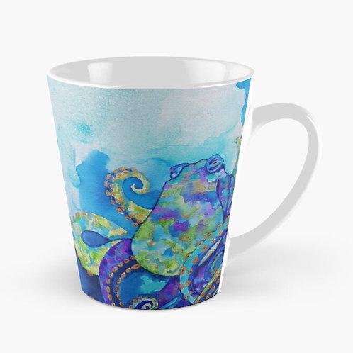 Tentacles in Teal Tall Mug