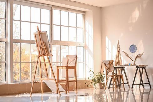 Interior of modern artist's room.jpg