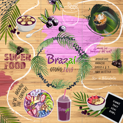 9 Post sequence for Acai smoothie spot