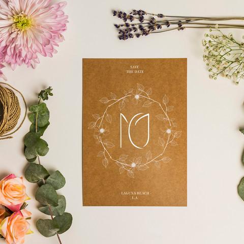 Monogram design for wedding