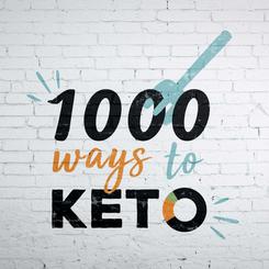 Keto lifestyle blogger logo