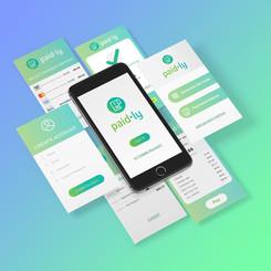 Receipt app concept design