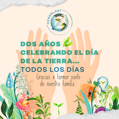 Instagram post for Eco Blog to celebrate earth day