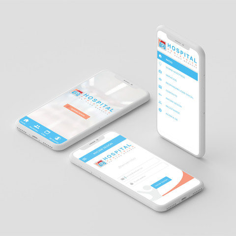 App UX/UI for Dominican Childrens Hospital