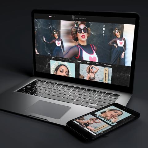 Fashion blogger website
