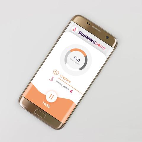 Fitness app concept development