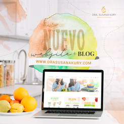 Nutricionist website development & design