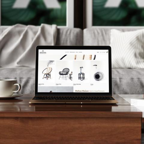 Website for artesanal ratan furniture in Malaysia