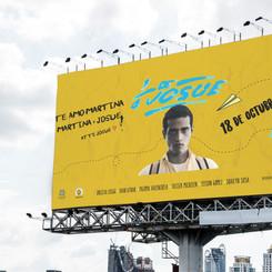 Dominican movie billboard design