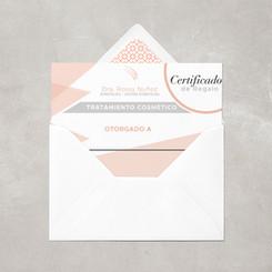 Gift card design for dermathologist