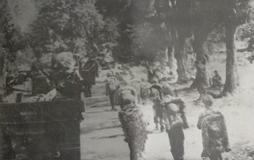 Pasukan Belanda memasuki Wilayah RI Dalam Agresi Militer Pertama tanggal 21 Juli 1947 (Sum