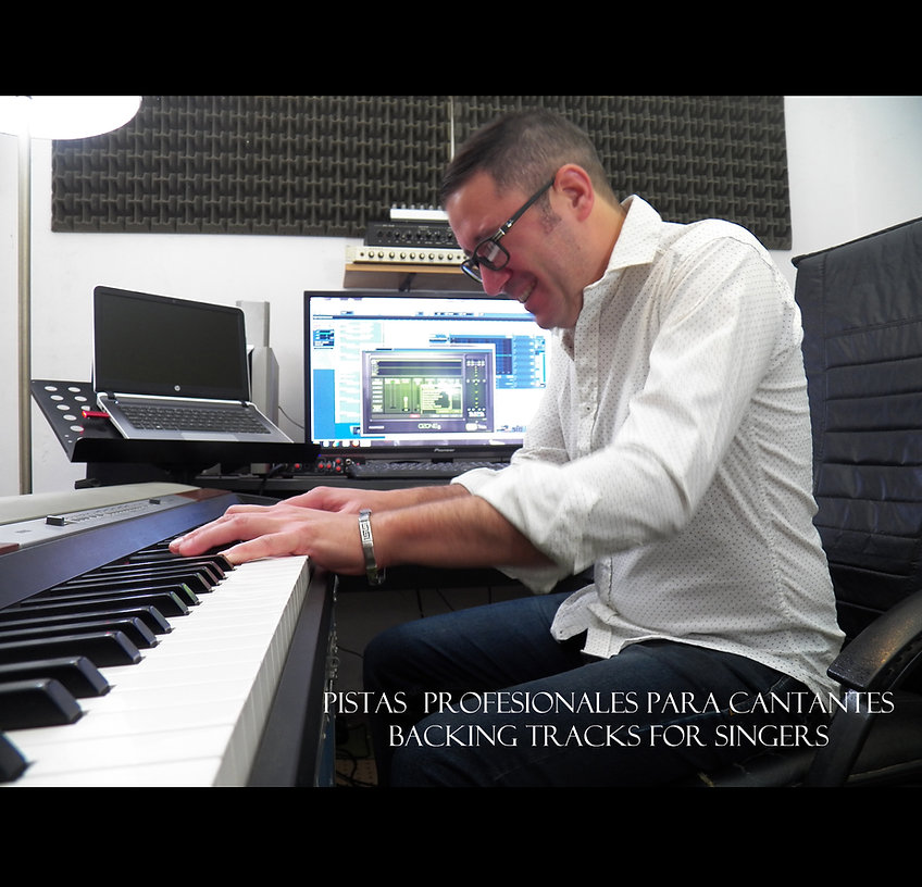 Pistas profesionales - karaokes - playbacks - Backing Tracks