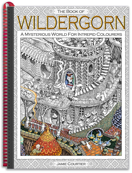 The Book of Wildergorn: GIANT A3-Sized, Gloss-Hardback.