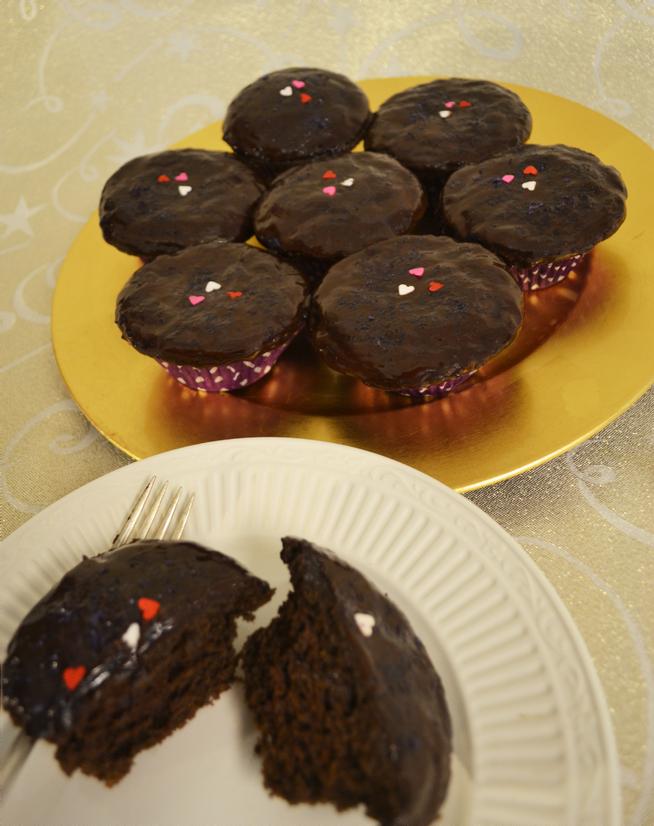 Super-Rich Chocolate Cupcakes