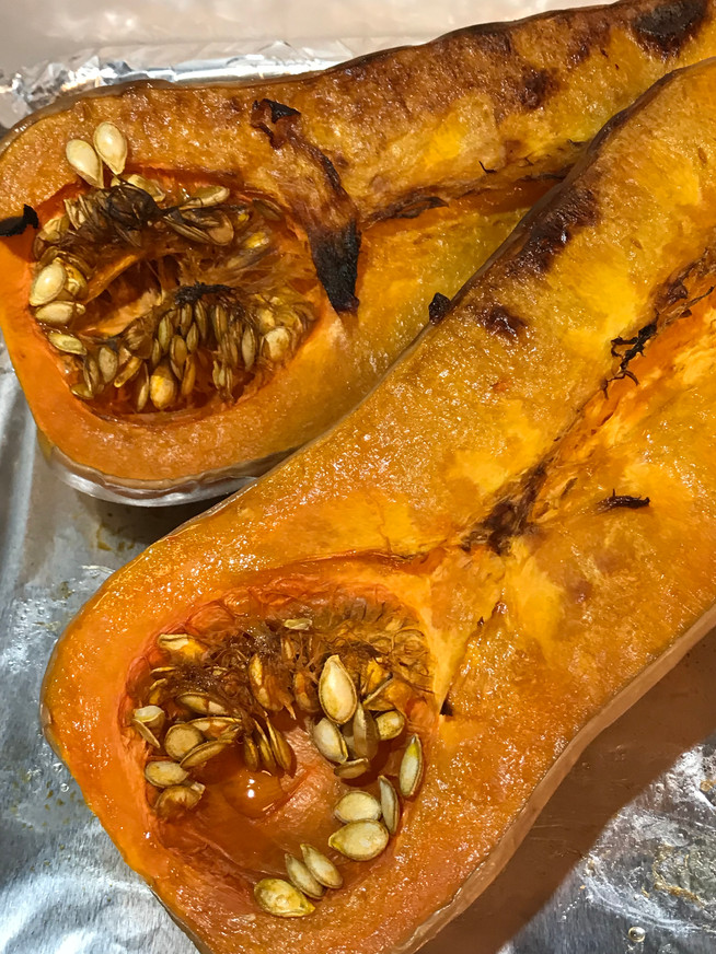 Perfect Roasted  Butternut Squash