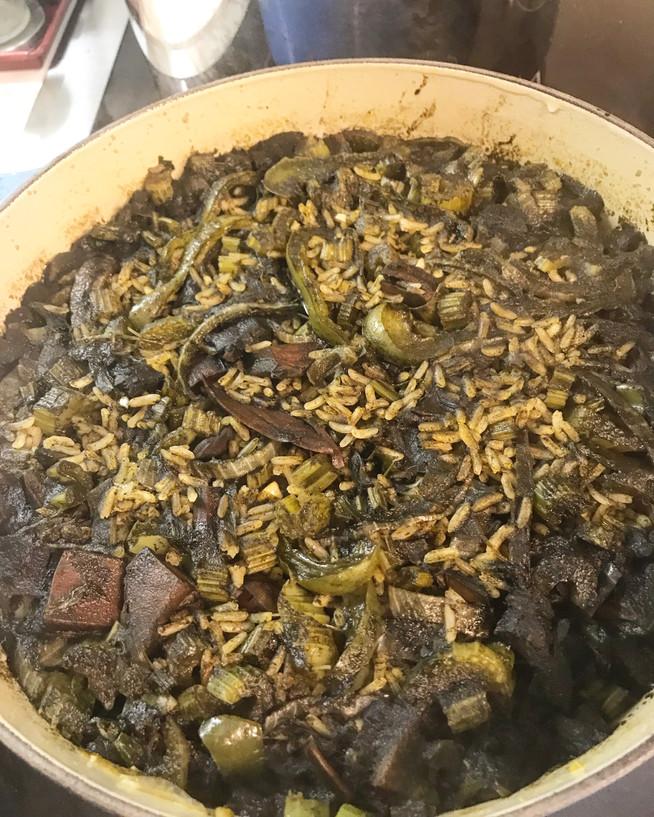 Arroz con Calamares ( Black Rice)