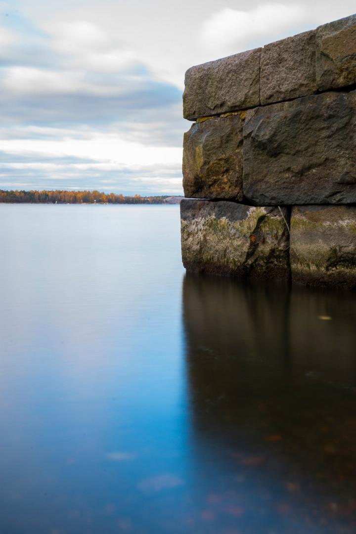 Pohjoisrannan kivilaituri 16.10.2016