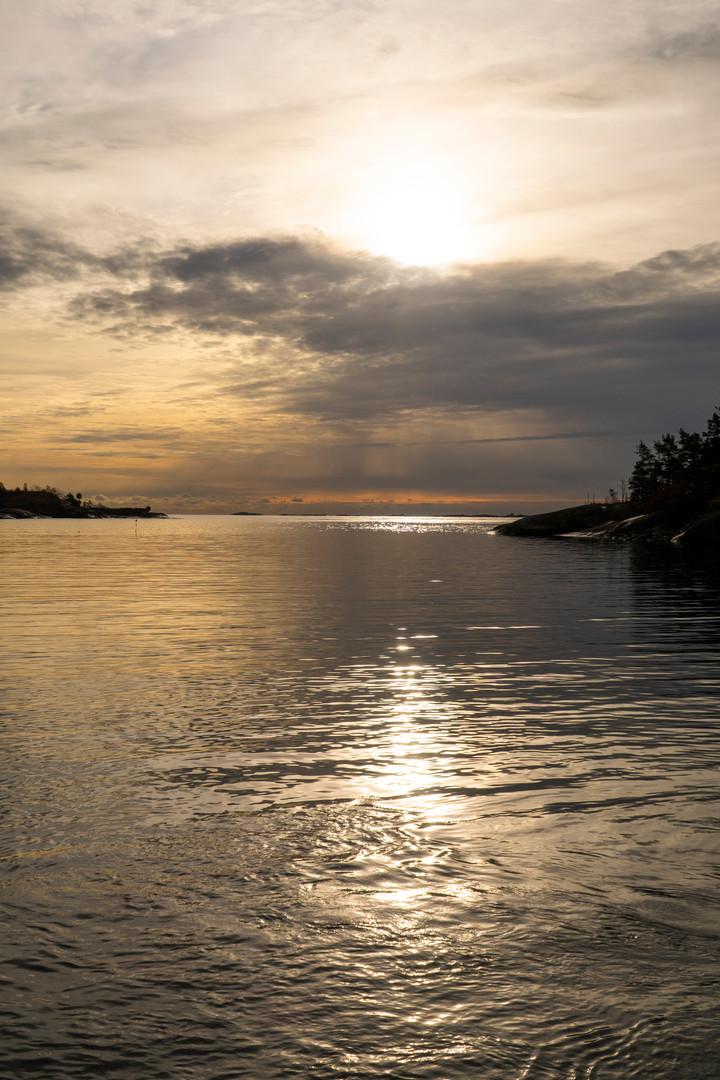 Pohjoisrannan edustalla 20.10.2018