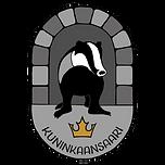 Kuninkaansaari mäyrä logo