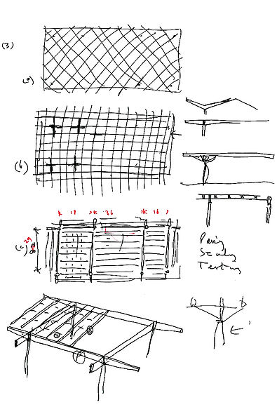 SB1-103 Study for Smithsonian Roof Foste