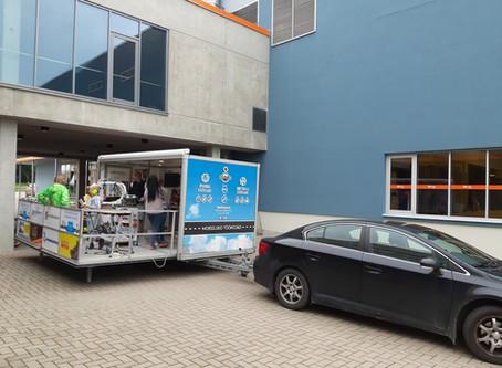 Mobiilne ratastel töökoda Jüri noortekeskuses