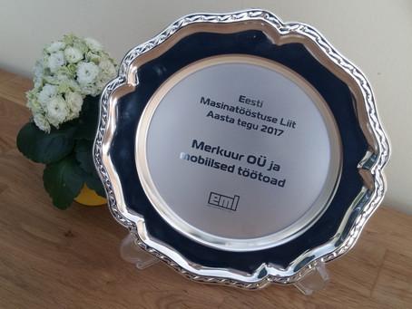 Eesti Masinatööstuse Liit tunnustab Mobiilsete töötubade meeskonda Aasta teo tiitliga