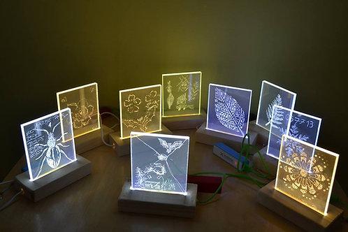 LED-lambi valmistamise komplekt 15tk