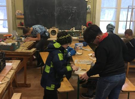 Sõbrapäeva tehnoloogia huviring Võsu koolis