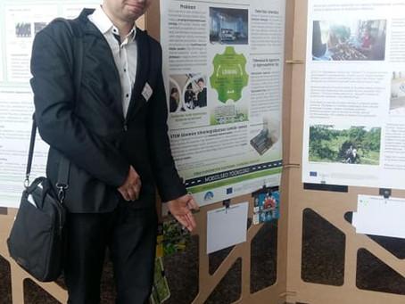 Merkuuri eestvedaja Lauri Soosaar Scientix konverentsil Tartus