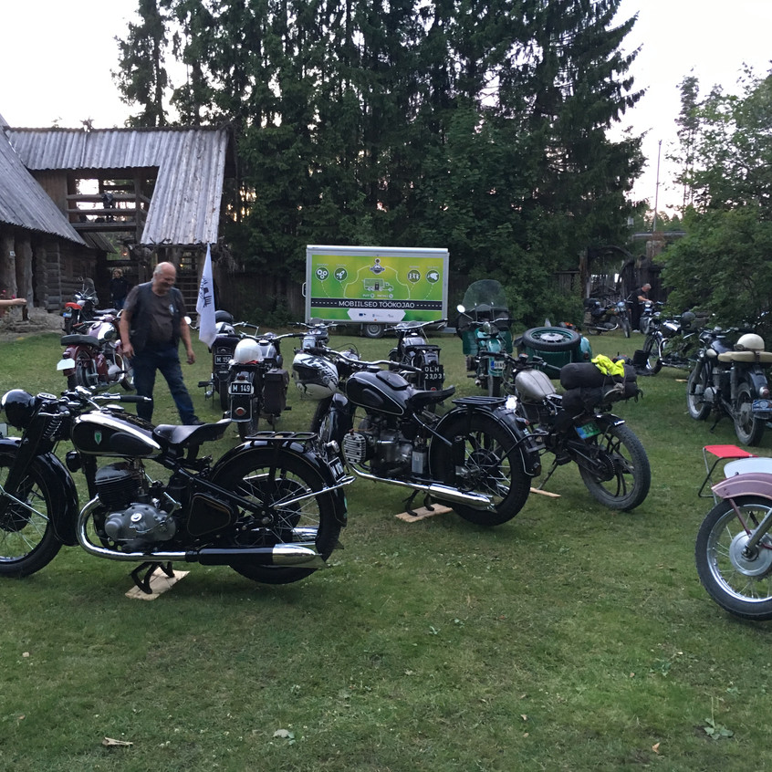 Unic-Moto kokkutulek 2018