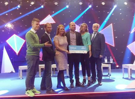 Merkuuri meeskond võitis Ajujahi 10. hooajal sotsiaalse ettevõtluse eripreemia