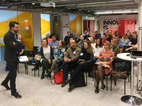 Ajujahi koolitusnädalavahetus Tehnopoli Startup Inkubaatoris koos Gleb Maltseviga