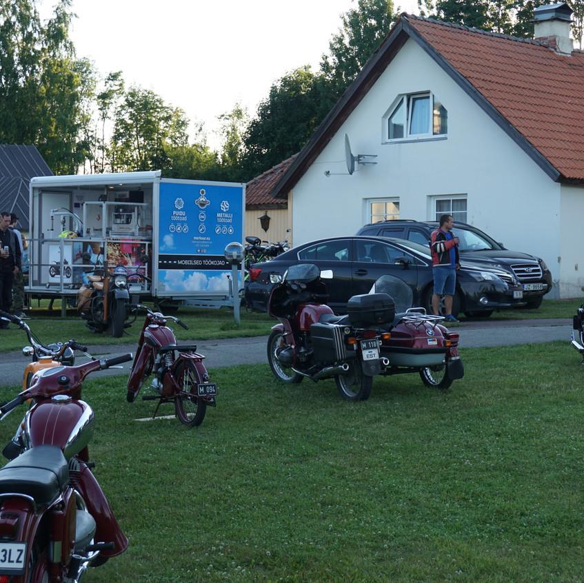 Mobiilne töökoda Narva-Jõesuus