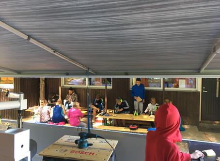 Mobiilsed töötoad Veski Noortelaagris