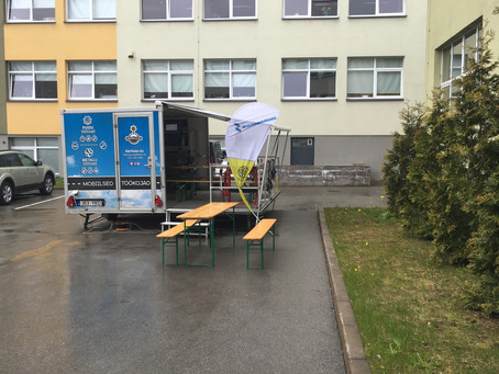 Mobiilne töökoda Läänemere Gümnaasiumis