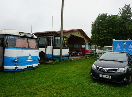 Mobiilne ratastel töökoda Järva-Jaani Vanatehnika Varjupaigas