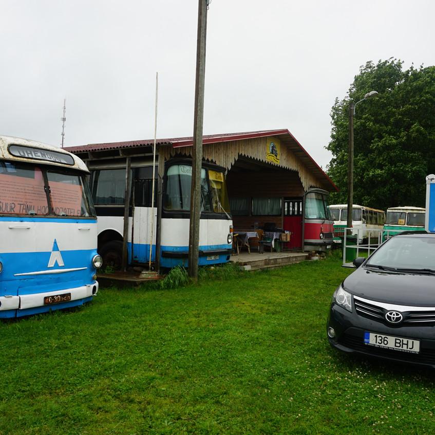 Vanatehnika Varjupaik Järva-Jaanis