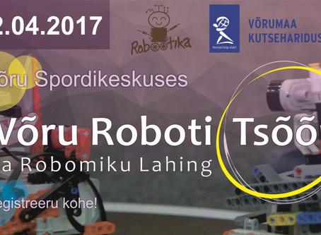 Merkuur korraldas töötubasid Võru  Roboti Tsõõrul