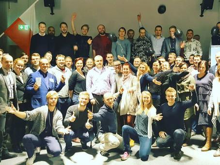 Merkuur OÜ ja Ajujahi TOP30 meeskonnad äri- ja kommuunikeskuses SPARK