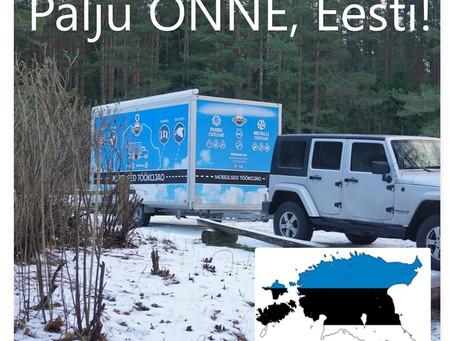 Palju Õnne, kallis Eesti!