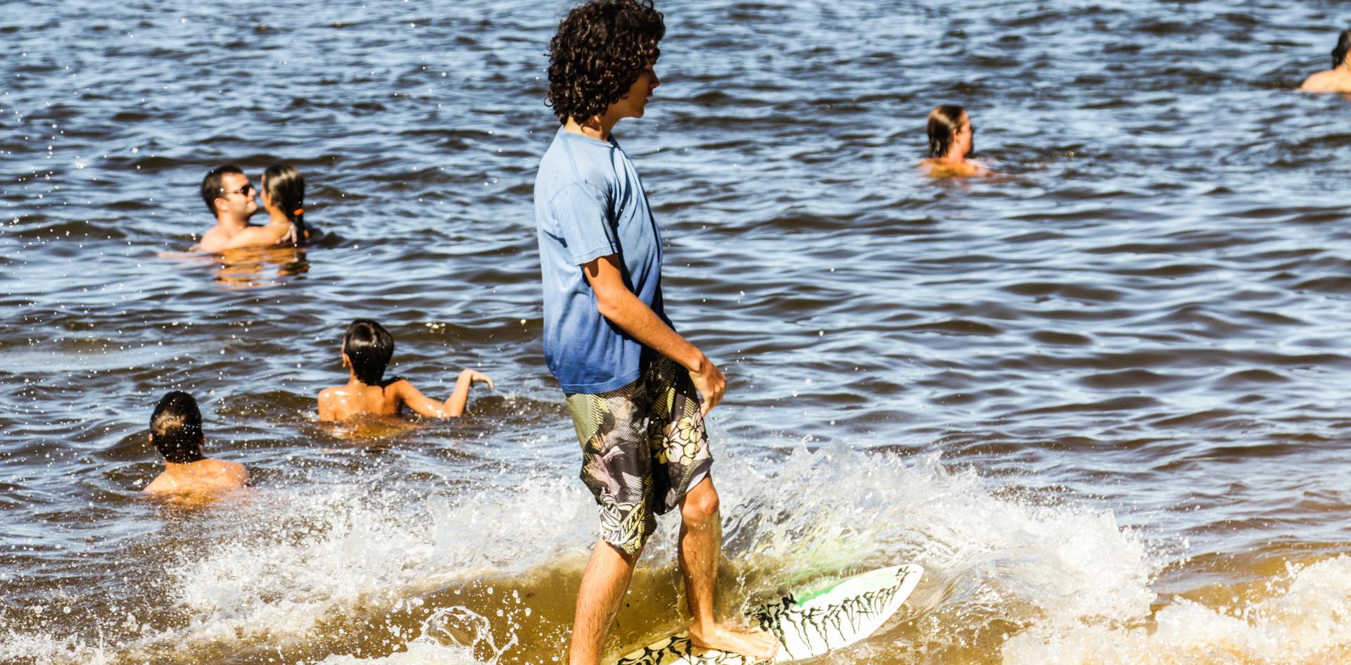 Esportes na Praia da Concha