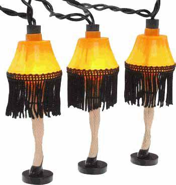 Leg Lamp 8' Long String Lights