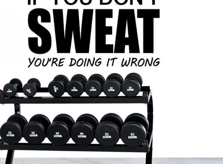 What If I Don't Sweat?