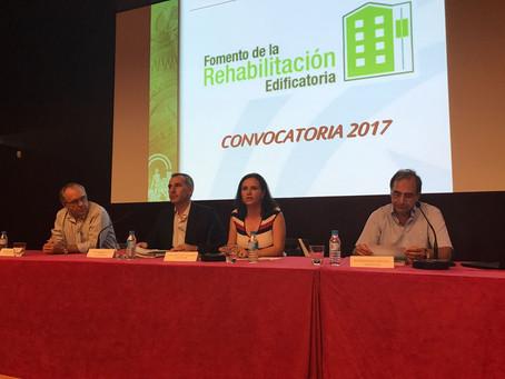 Jornada de las Ayudas a la Vivienda del Plan de Vivienda y Rehabilitación de Andalucía 2016-2020,