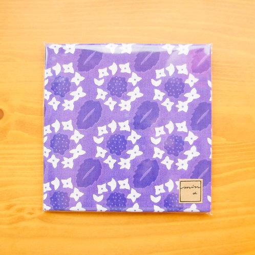 パターンてぬぐい ガクアジサイ/Lace cap hydrangea
