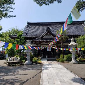 青原寺の文化祭で消しゴムはんこワークショップ! Stamping Workshop at Seigenji Temple!