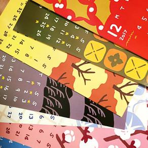 オカダミナコのカレンダー展! Calendar exhibition!