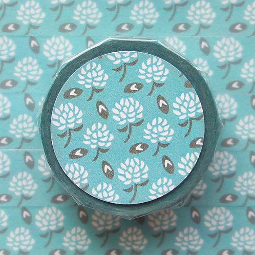 パターンマスキングテープ 白詰草/White clover
